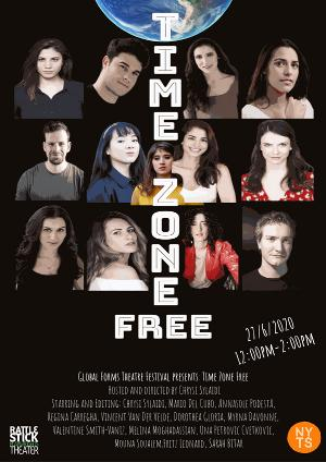 Tune in to TIME-ZONE FREE, Part of Global Forms Theatre Festival