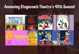 Stage Coach Theatre Announces 40th Season Including BAREFOOT IN THE PARK, DIRTY ROTTEN SCOUNDRELS & More