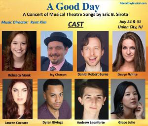 Cast Announced For A GOOD DAY - A Concert Of Musical Theatre Songs By Eric B. Sirota in Ellsworth Park