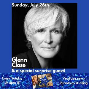 Lance Roberts Launches New Talk Show On YouTube, With Guest Glenn Close
