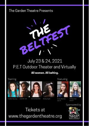 The Garden Theatre Will Return This Month With Cabaret Performance THE BELTFEST