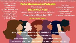 PUT A WOMAN ON A PEDESTAL Announces Final Evening Of Plays