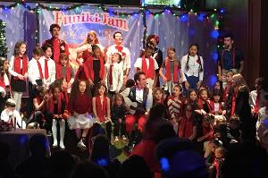 FunikiJam's HOLIDAY BEAT Family Spectacular Shines Bright With NYC Kids
