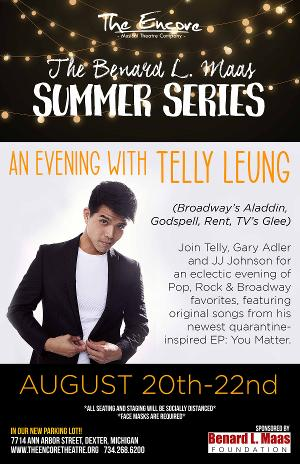 Telly Leung Joins The Encore Musical Theatre Company's Summer Series