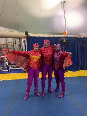 Four Of Circus Harmony's Flying Children Land At Cirque Du Soleil!