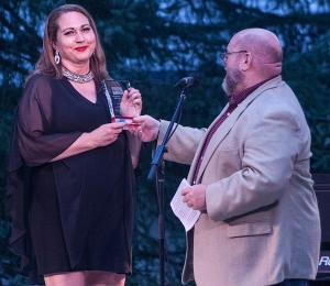 Theater Barn's Pamme Jones Receives Service Award At Concert For The Community