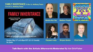 The Riant Theatre's Play Reading Series to Feature FAMILY INHERITANCE