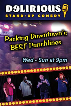 Delirious Comedy Club Brings Nightly Laughter To Downtown Las Vegas