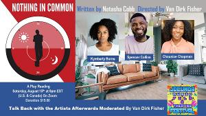 Chaunice Chapman to Star in NOTHING IN COMMON By Natasha Cobb In The JOCUNDA FESTIVAL