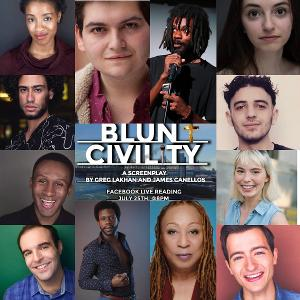 BLUNT CIVILITY Reading Starring Antwayn Hopper, Greg Lakhan, Keith Weiss and More Will Stream To Benefit Covenant House
