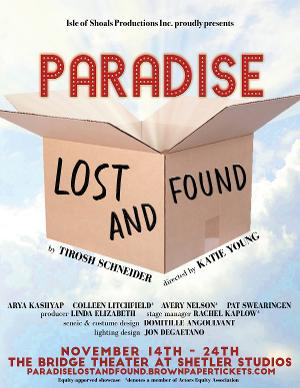 World Premiere Comedy PARADISE LOST & FOUND Comes To Isle of Shoals