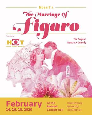 Valentine's Weekend Is HOT With Mozart's THE MARRIAGE OF FIGARO