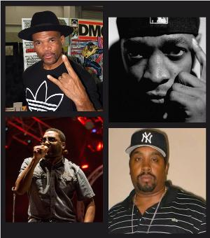 Darryl 'DMC' McDaniels, Chuck D, Big Daddy Kane & Eric B. Up Next On Tom Needham's SOUNDS OF FILM NEW YEAR'S EVE SPECIAL