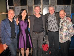 Stephan Thelen Composes 'World Dialogue' For Kronos Quartet and Al Pari Quartet