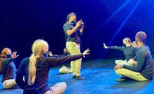 Dance, Media Arts Find New Fusion On NY Campus To Defeat COVID-19