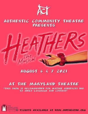 HEATHERS THE MUSICAL Live Comes to Hagerstown