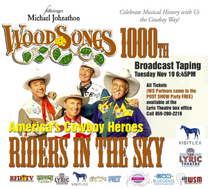 WOODSONGS To Tape Historic 1000th Episode On November 19