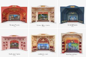 Largest Collection Of Theatre Model Kits Ever Created For Existing Theatres Supports London Theatre Charities