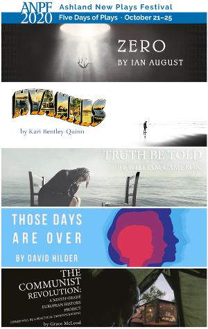 Ashland New Plays Festival Virtual Lineup Brings Together Artists From Around The Country