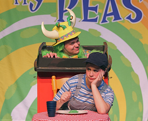 THE MONSTER WHO ATE MY PEAS Comes to Adelphi PAC