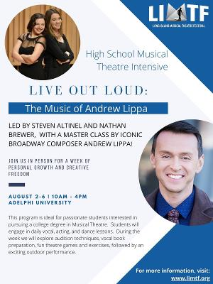LIVE OUT LOUD: THE MUSIC OF ANDREW LIPPA to be Presented by The Long Island Musical Theatre Festival