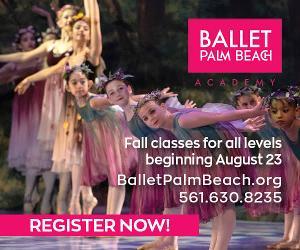 Register Now for Ballet Palm Beach Fall Instruction