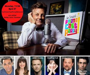 Bobby Conte Thornton Joins Jim Caruso's PAJAMA CAST PARTY This Week