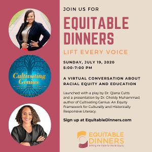 Join The Conversation With EQUITABLE DINNERS: LIFT EVERY VOICE