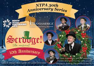NTPA Offers Free Tickets to COVID Victims, First Responders, and Veterans for SCROOGE THE MUSICAL