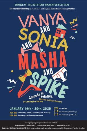 Orlando Icon Michael Wanzie To Headline Ensemble Company's VANYA AND SONIA AND MASHA AND SPIKE