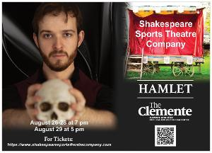 HAMLET Returns to Shakespeare Sports Theatre Company This August