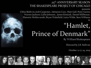 Shakespeare Project Of Chicago Presents Free Performances Of HAMLET