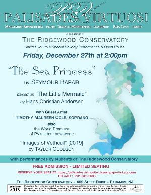 Palisades Virtuosi to Perform Concert At The Ridgewood Conservatory