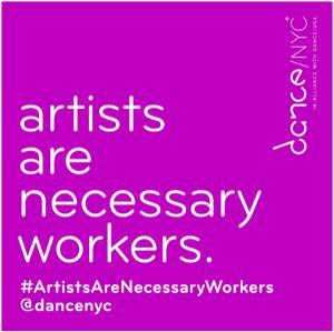 #ArtistsAreNecessaryWorkers Conversation Series Continues  June 2