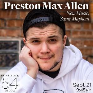Preston Max Allen To Debut Music From New Show AMY ADAMS WINS AN OSCAR At Feinstein's/54 Below