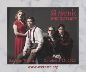 West Valley Arts Brings ARSENIC AND OLD LACE To The Stage With Socially Distanced Seating