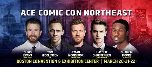 Chris Evans, Tom Hiddleston, Ewan McGregor And Hayden Christensen Headline Boston ACE Comic Con This March