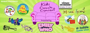 Emily Who and Rogue Projects Will Premiere Second Kids Couch Concert May 1
