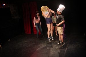 Sour Grapes Productions Presents CHEMICAL X: The Powerpuff Girls Improv Show