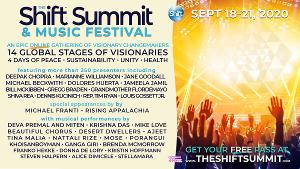 Deepak Chopra, Marianne Williamson, Jane Goodall and More to Take Part in THE SHIFT SUMMIT & MUSIC FESTIVAL