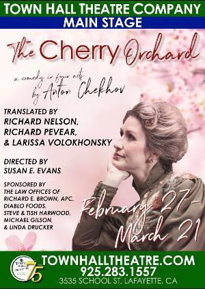THE CHERRY ORCHARD Comes to Town Hall Theatre