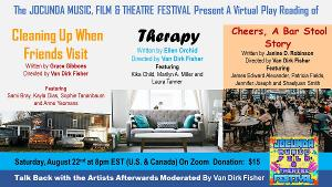 The JOCUNDA FESTIVAL'S Virtual Play Reading Series Presents Three New Plays Directed by Van Dirk Fisher