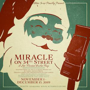 Performances Added For Actors Co-op's MIRACLE ON 34th STREET: A Live Musical Radio Play