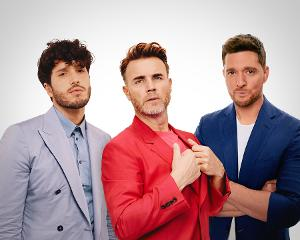 Gary Barlow, Michael Buble, and Sebastian Yatra Release Video for 'Elita'