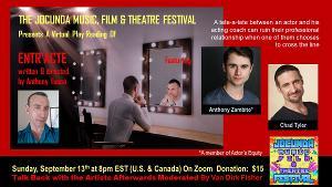 The Jocunda Music, Film & Theatre Festival Announces ENTR'ACTE A Virtual Play Reading