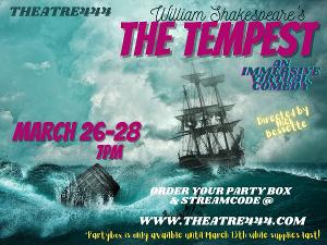 Theatre444 Presents THE TEMPEST, A Brave New Theatre Experience