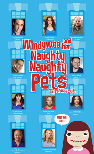 WINDYWOO AND HER NAUGHTY NAUGHTY PETS Development Reading Will Be Led By Remy Zaken and Soara-Joye Ross