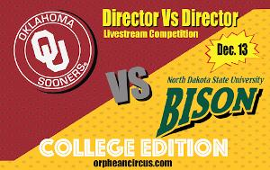 Livestreaming Game Show DIRECTOR VS DIRECTOR Announces Episode 6 - The College Edition!