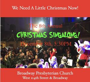 Line Up Set For 8th Annual Christmas Sing Along