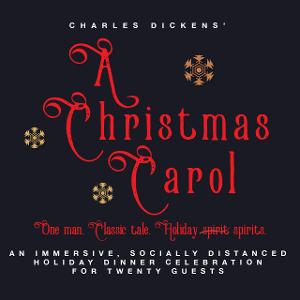One-Man Telling of A CHRISTMAS CAROL To Play Greenport's First And South Restaurant & Bar This Holiday Season